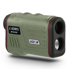 600M 6X25 GOLF LASER RANGE FINDER for Hunting W600 Ranging and Speed Measuring