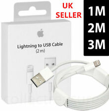 Genuine 2M Lightning USB Charger Lead Cable Apple iPhone XS XR X 8 7 6 iPad Air