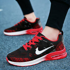 Men's Flyknit Air Cushion Fashion Sports Sneakers Casual Running Lovers Shoes