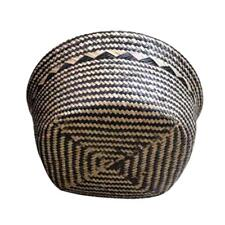 Woven Baskets, Seagrass Plant Pot Belly Basket for Indoor Plants ZH