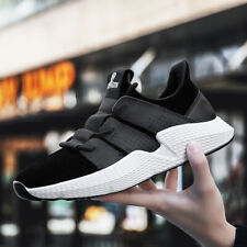 Men's Running Shoes Athletic Sneakers Breathable Sports Gym Casual Canvas MD