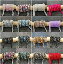 New DIY 1 Yards Multicolour Drill Rope Hose Jewelry Findings Making Accessory