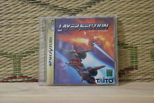 Layer Section no original case edition Sega Saturn SS Japan VG+!