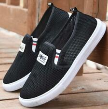 Fashion Men's Summer Breathable Casual Shoes Outdoor Mesh Slip On Flats Shoes