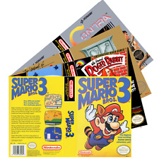 Nintendo NES (#A-C) Re*placement C-a-s-e & Art+Work