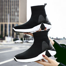 Mens Couples Sock Shoes Sports Sneakers Boots Outdoor Breathable Fashion Walking