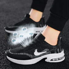 Men's Flyknit Fashion Sports Sneakers Casual Running Shoes Mesh Breathable Soft