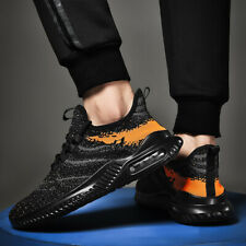 Mens Air Cushion Athletic Sneakers Casual Outdoor Sports Running Mesh Breathable