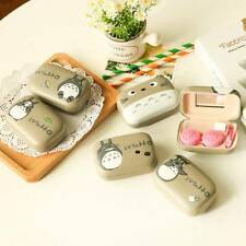 Mini Portable Travel Cute Contact Lens Holder Storage Soaking Box Case Container