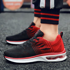 Men Air Cushion Athletic Sneakers Sports Running Breathable Shoes Casual Walking
