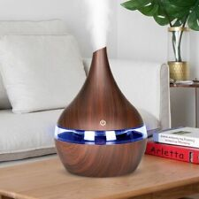 Air 300ml Usb Electric Aroma Diffuser Wood Ultrasonic Humidifier Essential