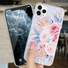 Flower Silicon Phone Case For iPhone 7 8 Plus XS Max XR Rose Floral Cases For iP