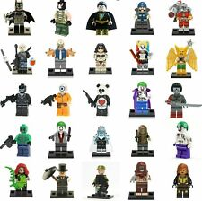 MINIFIGURES DC JUSTICE LEAGUE BATMAN SUPER EROI COMPATIBILI Blocks Fit LEGO