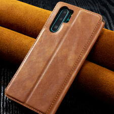 Genuine Leather Wallet Flip Stand Case Cover For Samsung Galaxy S10 S9 S8 Plus