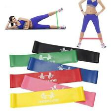 Rubber Resistance Bands Fitness Workout Elastic Training For Yoga Pilates. Z3K7