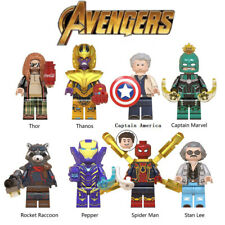 Avengers Minifigures Thor Thanos Building Blocks Figures Children Gift Toys New