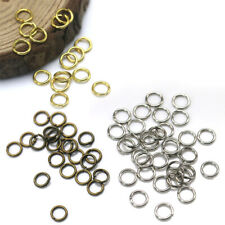 1000pcs Gold Silver Split Rings Connectors Open Jump Ring For Jewelry Making