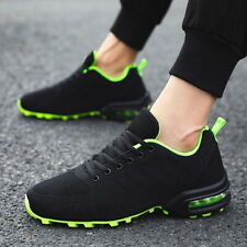 Men's Air Cushion Flyknit Running Shoes Athletic Sneakers Casual Walking Shoes