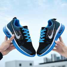 Men's Air Cushion Casual Sneakers Sports Running Walking Shoes Mesh Breathable