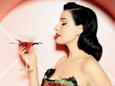 Dita Von Teese Alcohol Cocktail Wall Print POSTER DE
