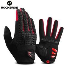 Full Finger Cycling Glove Racing Motorcycle Gloves MTB Bike Riding Gel Pad Mitts