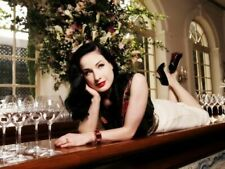 Dita Von Teese Bar Wineglasses Wall Print POSTER CA