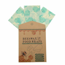 Reusable Beeswax Food Wraps Washable Packaging Oil Cloth Food Fresh Keeping Cove