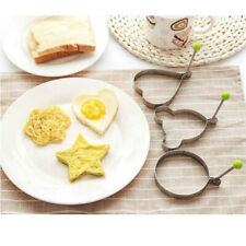 Cooking Kitchen Tool Stainless Steel Fried Egg Shaper Ring Pancake Mould Mold FU
