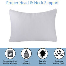 Adjustable Cooling Bamboo Shredded Memory Foam Bed Pillow Help Sleep Queen Size