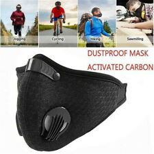 Valve Mask PM2.5 Anti-Dust Mask Filtered Activated Carbon Face Mouth Respirator