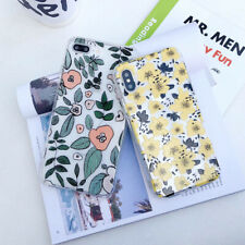 Cute Cartoon Flower Silicone Phone Case Cover For iPhone X XS Max XR 6 7 8 Plus