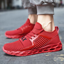 Men's Retro Sports Athletic Sneakers Running Shoes Breathable Casual Shoes Gym