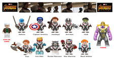 MARVEL AVENGERS 4 END GAME LEGO MOC CUSTOM MINIFIGURES BRICKS BLOCKS STAN LEE