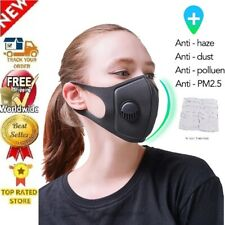 2020 Unisex Reusable Cycling Face Respirator Washable AirPurifying Filters Sport