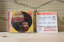 Ready 2 Rumble Boxing w/point card Dreamcast DC Japan Very Good Condition!