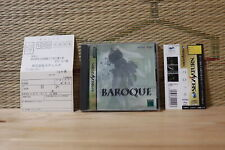 Baroque Complete Set! Sega Saturn SS Japan Very Good+ Condition!