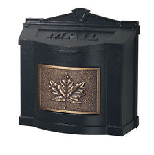 Gaines Wall Mount Mailbox: 12 Design Choices with Leaf