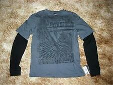 Young Men's VANS Mock Layered Shirt~Red,Gray,White~.S,L,XL ~Ret.$34~NWT