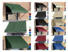 Retractable Awning for Window & Door 4',6',8' Awnings