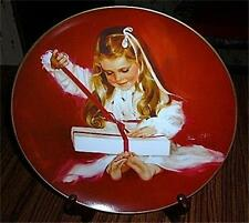 "Donald Zolan""Children at Christmas Collection""Plate~NIB"