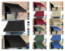 DIY Fabric Window Awnings Retractable Awning 5 Colors