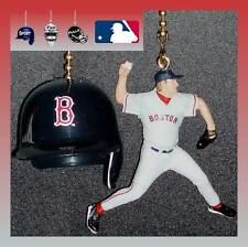 MLB BOSTON RED SOX HELMET & CHOICE OF PLAYER CEILING FAN PULLS -MARTINEZ, ETC...