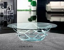 """Round Glass Table Tops 1/4"""" 3/8"""" 1/2"""" thick see sizes"""