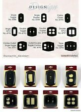 Baldwin Brass Rope Style Switch Plates in Four Finishes