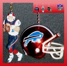 NFL FOOTBALL BUFFALO BILLS QUARTERBACK FIGURE & HELMET CEILING FAN PULLS
