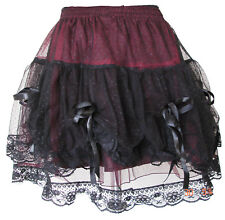 GOTHIC SHORT SKIRT PROM VICTORIA PARTY WEAR PUNK 1530
