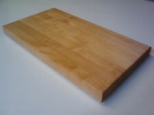 NEW! Solid Butcher Block Maple Cutting Board 1.5""