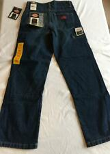 Dickies Youth drk blueWork Horse Jeans sizes 5-18, 100% Cotton Blues Carpenter