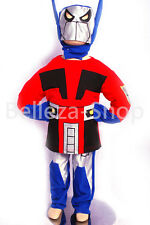 Transformers OPTIMUS PRIME Costume Cosplay Outfit Christmas Party Sz 3T-8 FC009