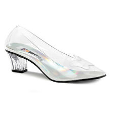 PLEASER Cinderella Princess Halloween Costume Heels